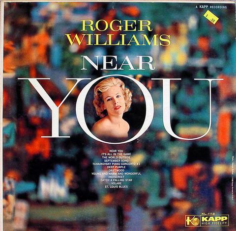 """Roger Williams Vinyl 12"""" (Used)"""