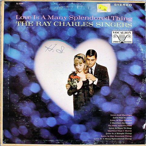 "The Ray Charles Singers Vinyl 12"" (Used)"