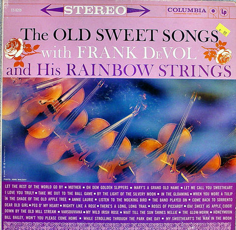 "Frank Devol And His Rainbow Strings Vinyl 12"" (Used)"