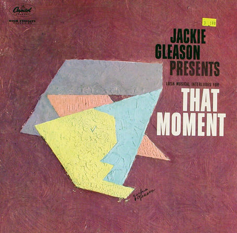 "Jackie Gleason Presents Lush Musical Interludes For That moment Vinyl 12"" (Used)"