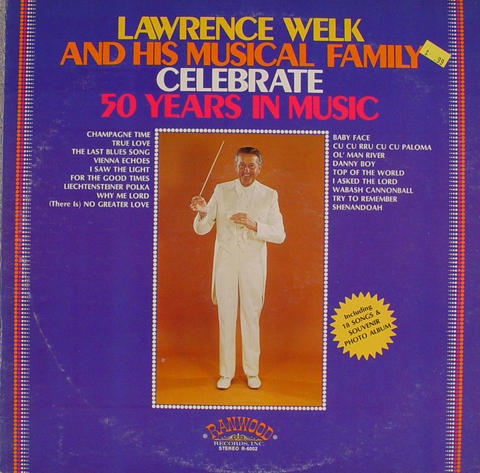 """Lawrence Welk And His Musical Family Vinyl 12"""" (Used)"""