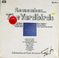 "The Yardbirds Vinyl 12"" (Used)"