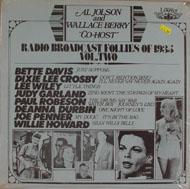 "Radio Broadcast Follies of 1935 Vol. Two Vinyl 12"" (New)"