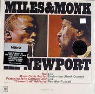 """Miles & Monk Vinyl 12"""" (New)"""