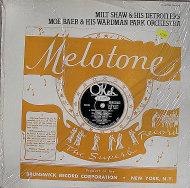 "Milt Shaw & His Detroiters Vinyl 12"" (New)"