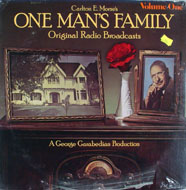 "One Man's Family Original Radio Broadcasts Volume One Vinyl 12"" (New)"
