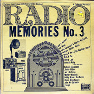 "Radio Memories No. 3 Vinyl 12"" (New)"
