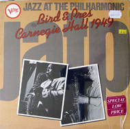 "Bird & Pres Carnegie Hall 1949 Vinyl 12"" (Used)"