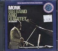 Thelonious Monk Big Band And Quartet CD