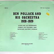 "Ben Pollack And His Orchestra Vinyl 12"" (Used)"
