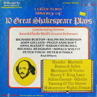 "10 Great Shakespeare Plays Vinyl 12"" (Used)"