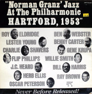 "Norman Granz' Jazz At The Philharmonic: Hartford, 1953 Vinyl 12"" (Used)"