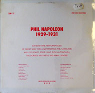 "Phil Napoleon Vinyl 12"" (New)"