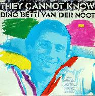 "Dino Betti Van Der Noot Vinyl 12"" (Used)"