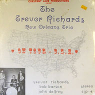 """The Trevor Richards New Orleans Trio Vinyl 12"""" (New)"""