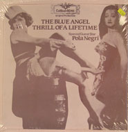 "The Blue Angel / Thrill Of A Lifetime Vinyl 12"" (New)"