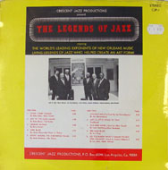 "The Legends Of Jazz Vinyl 12"" (New)"