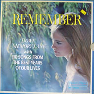 "Remember: Down Memory Lane Vinyl 12"" (Used)"