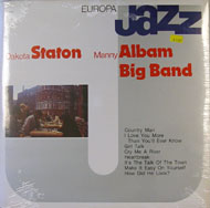 "Dakota Staton / Manny Albam Big Band Vinyl 12"" (New)"