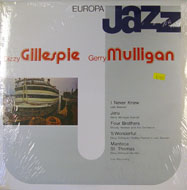 "Dizzy Gillespie / Gerry Mulligan Vinyl 12"" (New)"