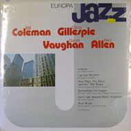 """Bill Coleman / Dizzy Gillespie / Sarah Vaughan Vinyl 12"""" (New)"""