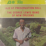 """The George Lewis Band Of New Orleans Vinyl 12"""" (New)"""