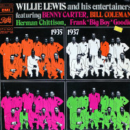 "Willie Lewis & His Entertainers Vinyl 12"" (Used)"