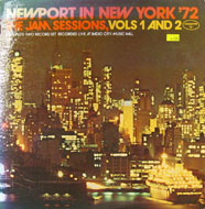 """Newport In New York '72: The Jam Sessions, Vols. 1 And 2 Vinyl 12"""" (Used)"""