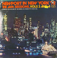 """Newport In New York '72: The Jam Sessions, Vols. 3 And 4 Vinyl 12"""" (Used)"""