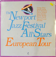 "The Newport Jazz Festival All-Stars European Tour Vinyl 12"" (New)"