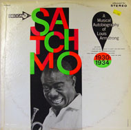 "Louis Armstrong Vinyl 12"" (Used)"