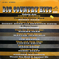 "Big Country Hits Volume 1 Vinyl 12"" (Used)"