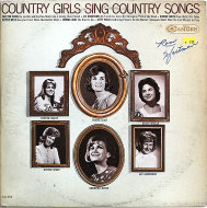 "Country Girls Sing Country Songs Vinyl 12"" (Used)"