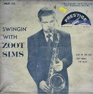 """Zoot Sims Vinyl 10"""" (Used)"""