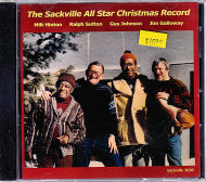 The Sackville All Star Christmas Record CD