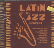 Latin Jazz Legends CD