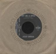 """Julie London Vinyl 7"""" (Used)"""