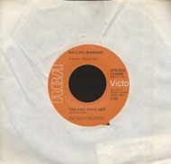 "Waylon Jennings Vinyl 7"" (Used)"