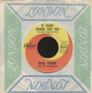 "Buck Owens and his Buckaroos Vinyl 7"" (Used)"