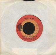 "Glen Campbell / Bobbie Gentry Vinyl 7"" (Used)"