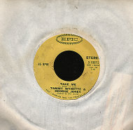 "Tammy Wynette & George Jones Vinyl 7"" (Used)"