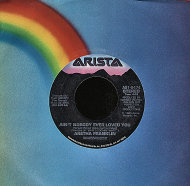 "Aretha Franklin / Peter Wolf Vinyl 7"" (Used)"