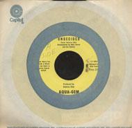 """Aqua-Gem Vinyl 7"""" (Used)"""