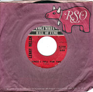 "Lenny Welch Vinyl 7"" (Used)"