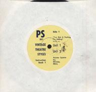 "Vintage Theatre Styles Vinyl 7"" (Used)"