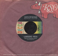 "Lawrence Welk And His Champagne Music Vinyl 7"" (Used)"