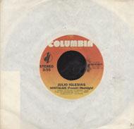 """Julio Iglesias Vinyl 7"""" (Used)"""
