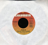 "Belin / Giorgio Moroder (Featuring Joe Pizzulo) Vinyl 7"" (Used)"