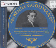 Benny Goodman and His Orchestra CD