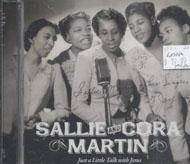 Sallie and Cora Martin CD